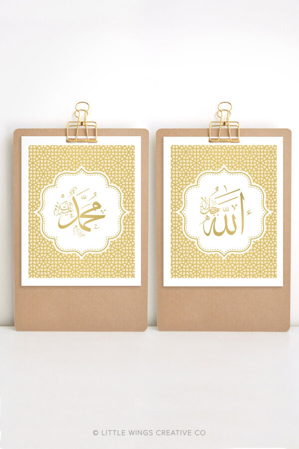 A&M Calligraphy Gold Download 1