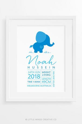 Muslim Baby Name Islamic Wall Art For Boys