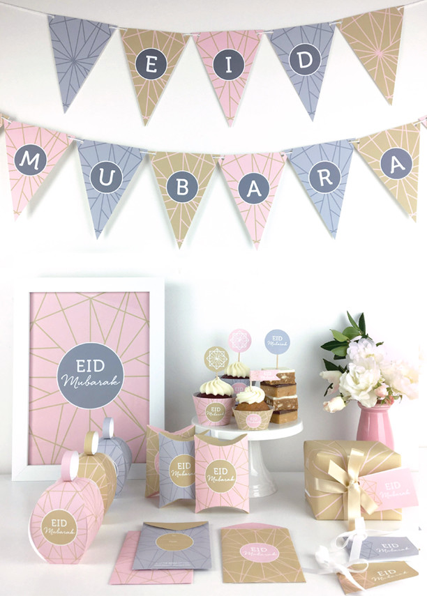 Celebrate Eid Printable decorations.
