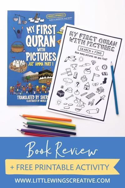My First Quran With Pictures | BOOK REVIEW • Little Wings