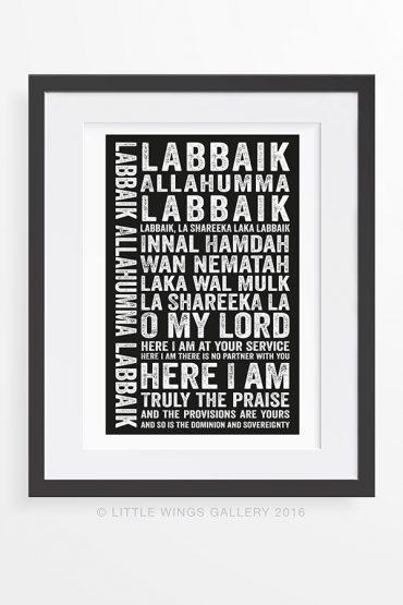 Labaik-Typography-Islamic-Art-Print
