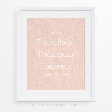 Linen Bismillah