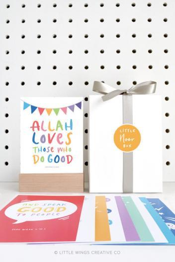 Little Noor Box Islamic Reminders (Rainbow)