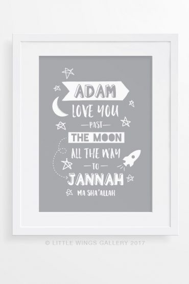 love-you-Past-The-Moon-Boy's-Personalised-Print