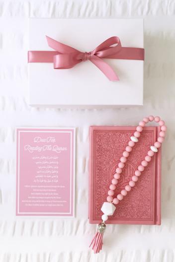 Quran Tasbih Pink Set 1