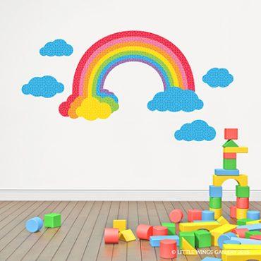 Rainbow Wall Sticker (Bright)
