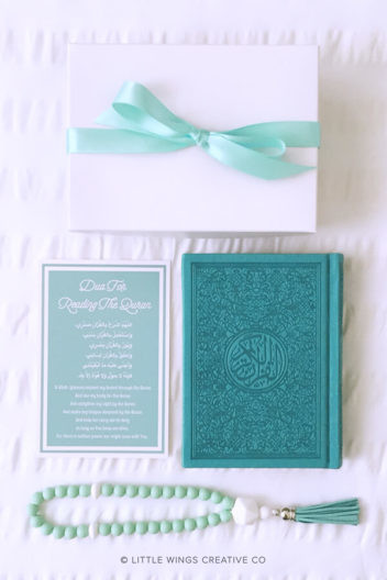 Aqua Rainbow Quran Arabic Set