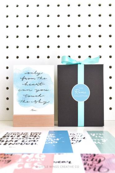 Islamic-Gift-Set-Mini-Prints-Rumi-Collection